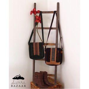 Handbags - Crossbody leather bags. Handmade design.